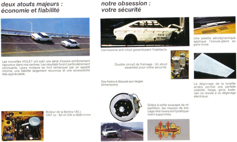 Topic officiel DATSUN VIOLET 140J & 160JSSS type LA10/PA10  Doc_vi15