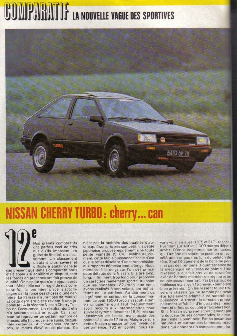 TOPIC OFFICIEL NISSAN CHERRY N12 et N12 TURBO! & N12 PUL Essais10