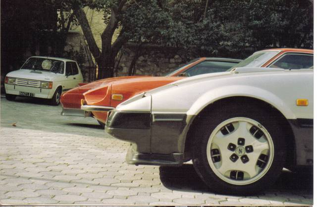 Ma DATSUN 240Z DE 1973 Museau10