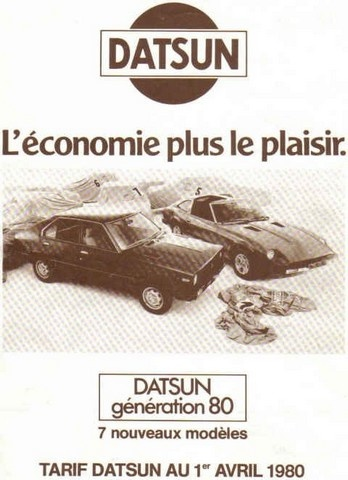 Topic officiel DATSUN VIOLET 140J & 160JSSS type LA10/PA10  Tarif_11