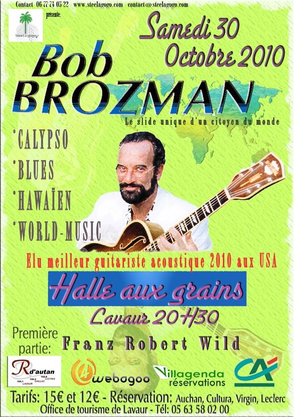 Concert et MASTERCLASS BOB BROZMAN -Octobre 2010- Lavaur Bob-br10
