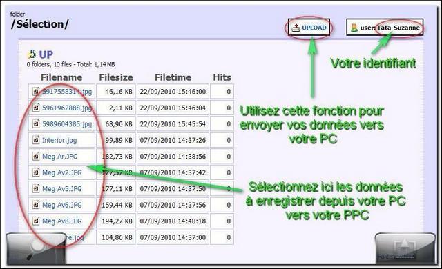 [TUTO]Accès et échange de données entre PC/Serveur et PPC Screen17