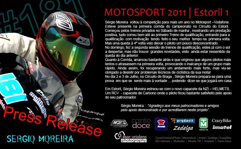 [2011] #181 Sérgio Moreira * Press release Sergio12