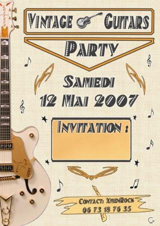 VINTAGE GUITARS PARTY - mai 2007 - Lyon Forum_13