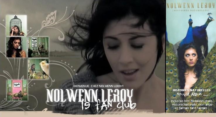 Binvenue sur le FanClub de Nolwenn Leroy!