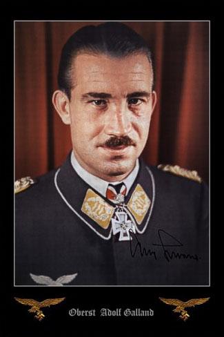 Adolf Galland un As de la Luftwaffe. 110