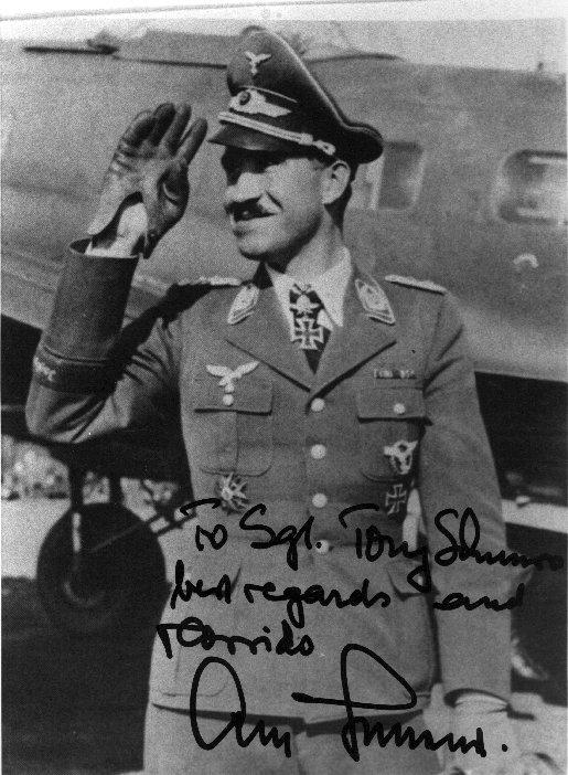 Adolf Galland un As de la Luftwaffe. 210