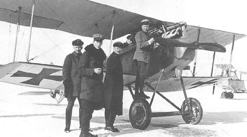 """LOS """"ALBATROS"""" (un avión, una leyenda) Halber10"""