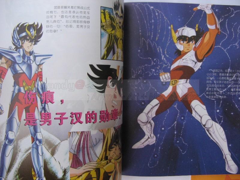 Saint Seiya Illustration Fan Art Book Bigbul17