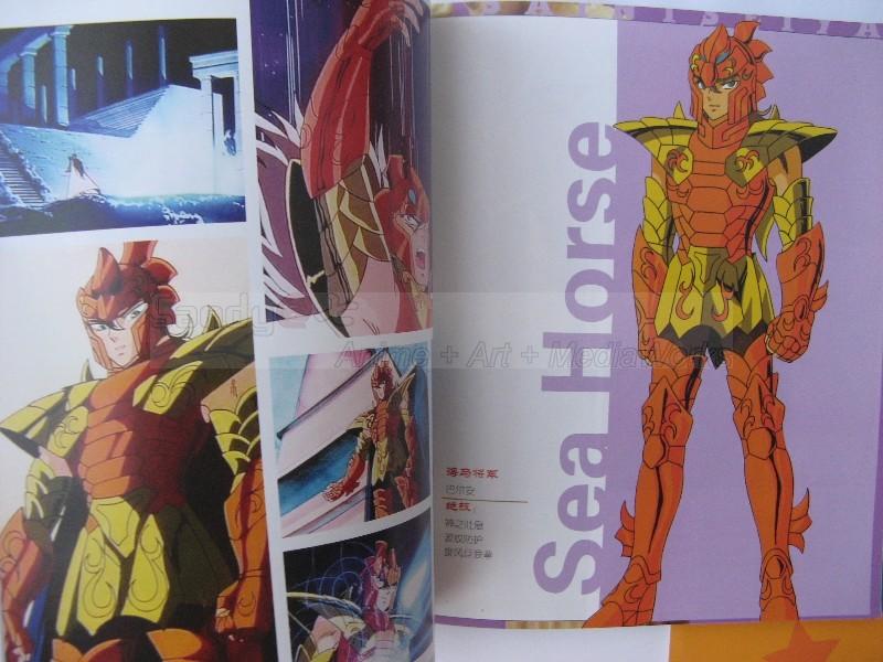 Saint Seiya Illustration Fan Art Book Bigbul19