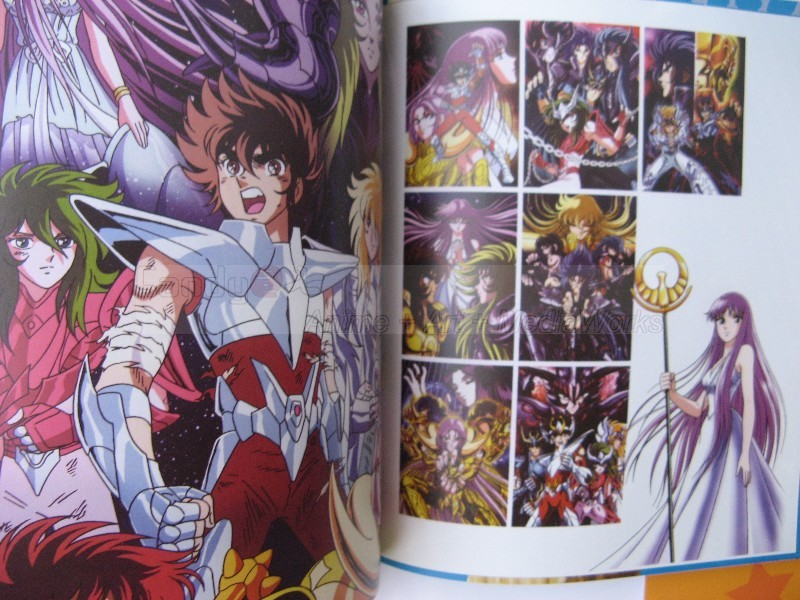 Saint Seiya Illustration Fan Art Book Bigbul20