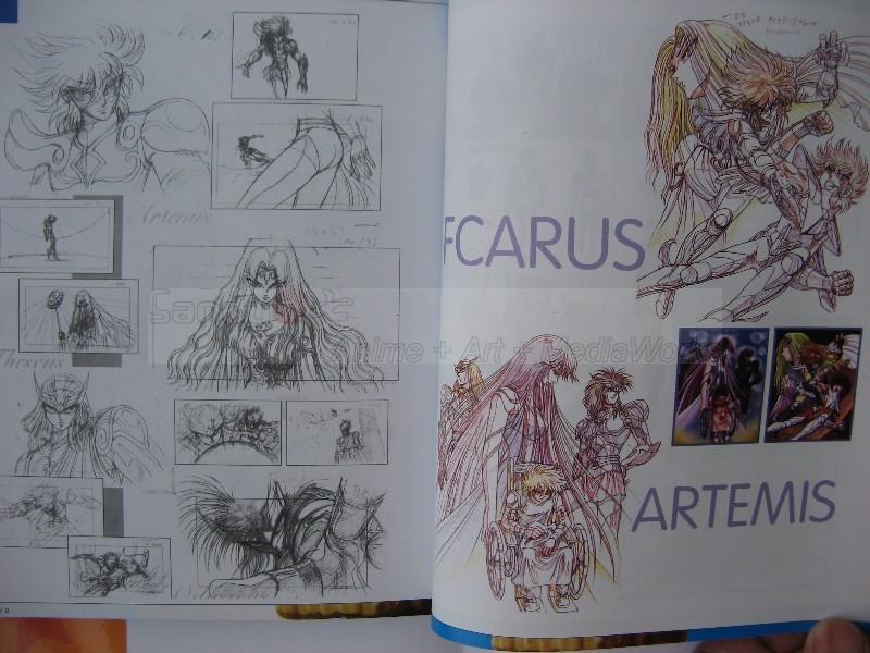 Saint Seiya Illustration Fan Art Book Bigbul22