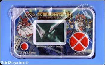 jeux électronique de poche Saint Seiya ( LSI game) Saint-12