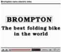Brompton le meilleur vélo pliant...  électrique du Monde Brompt12