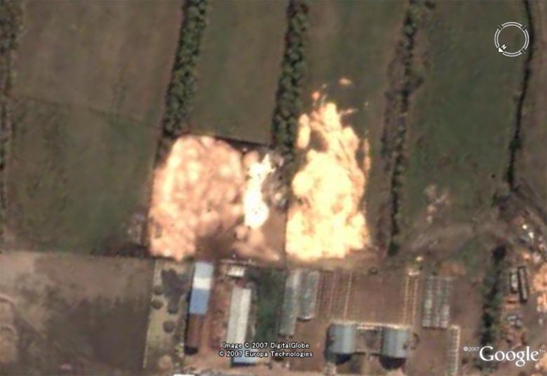 Au feu ! !  [Les incendies découverts dans Google Earth] - Page 4 Feugea10