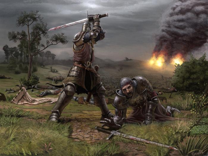 Espadas Negras. 74085010