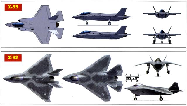 Boeing X-32A & Lockheed Martin X-35B [1:72 - Revell] 3_vues10