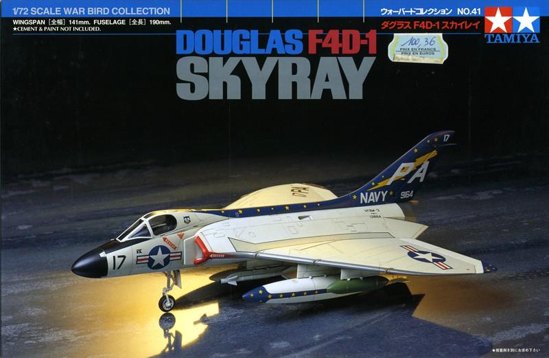 "Douglas F4D-1 ""Skyray"" [1/72 - Tamiya] Boxart10"