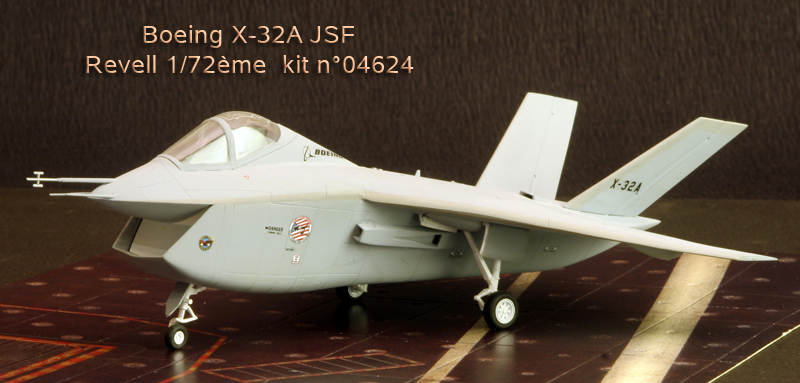 Boeing X-32A & Lockheed Martin X-35B [1:72 - Revell] X32a_010