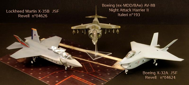 Boeing X-32A & Lockheed Martin X-35B [1:72 - Revell] X32ax310