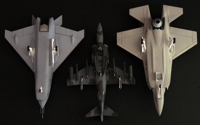 Boeing X-32A & Lockheed Martin X-35B [1:72 - Revell] X32ax313