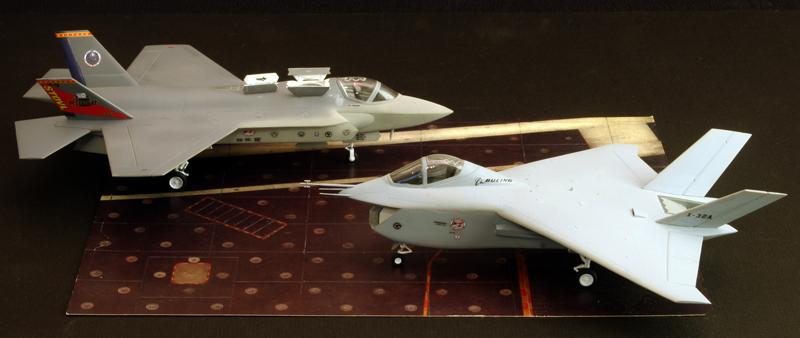 Boeing X-32A & Lockheed Martin X-35B [1:72 - Revell] X32ax314
