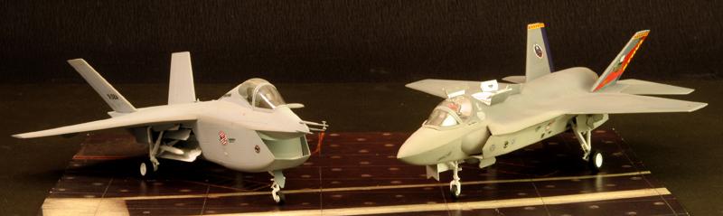 Boeing X-32A & Lockheed Martin X-35B [1:72 - Revell] X32ax315