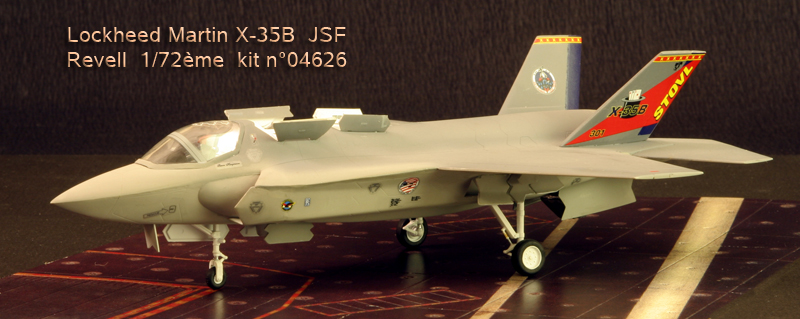 Boeing X-32A & Lockheed Martin X-35B [1:72 - Revell] X35b_010