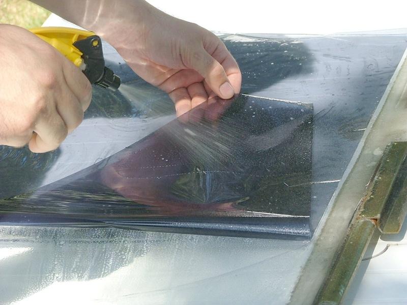 Teinter les vitres de sa voiture P2_510