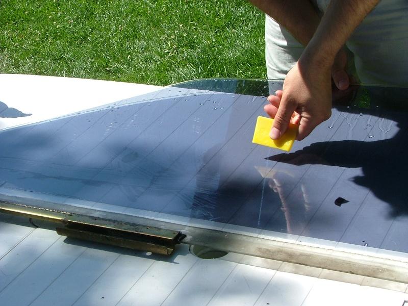 Teinter les vitres de sa voiture P3_410
