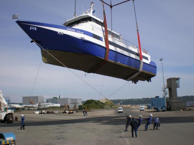 Brest, port de commerce 03210