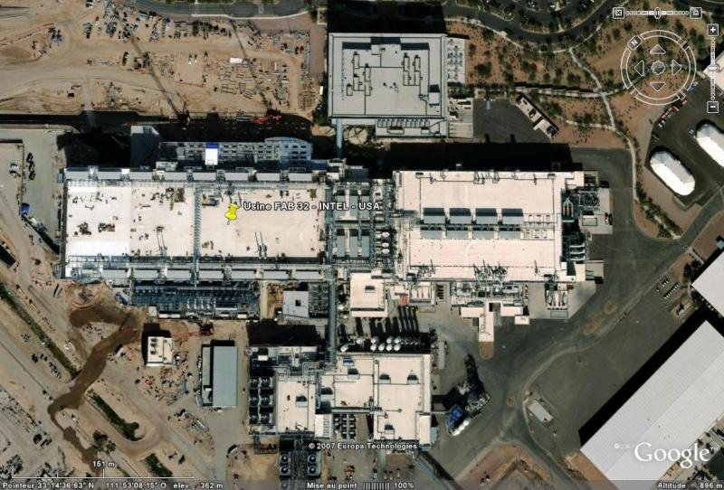 Fab32 : la nouvelle usine d'INTEL en Arizona - USA Usine_10