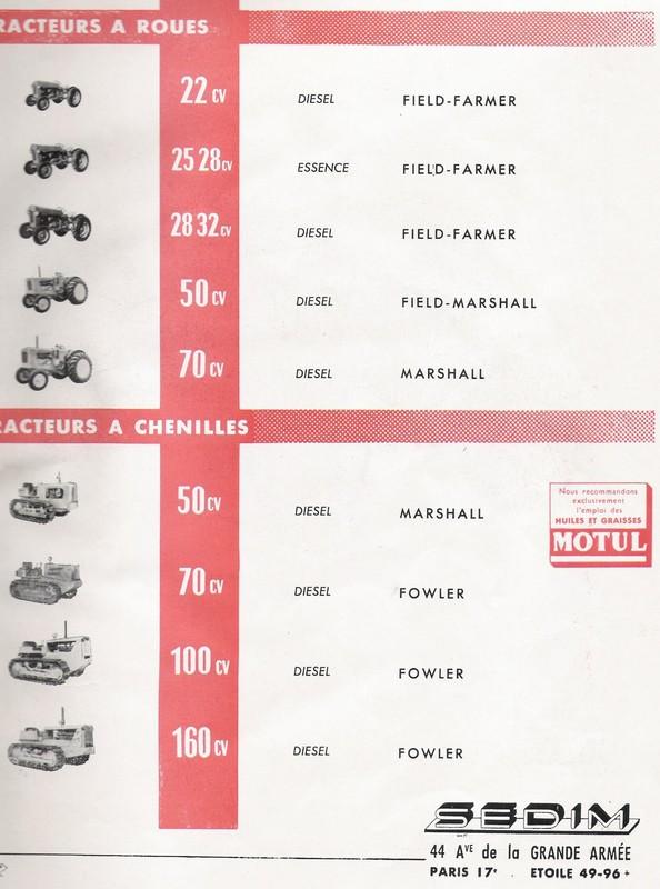 les TRACTEURS AGRICOLES à moteur 203 - Page 2 Field_19
