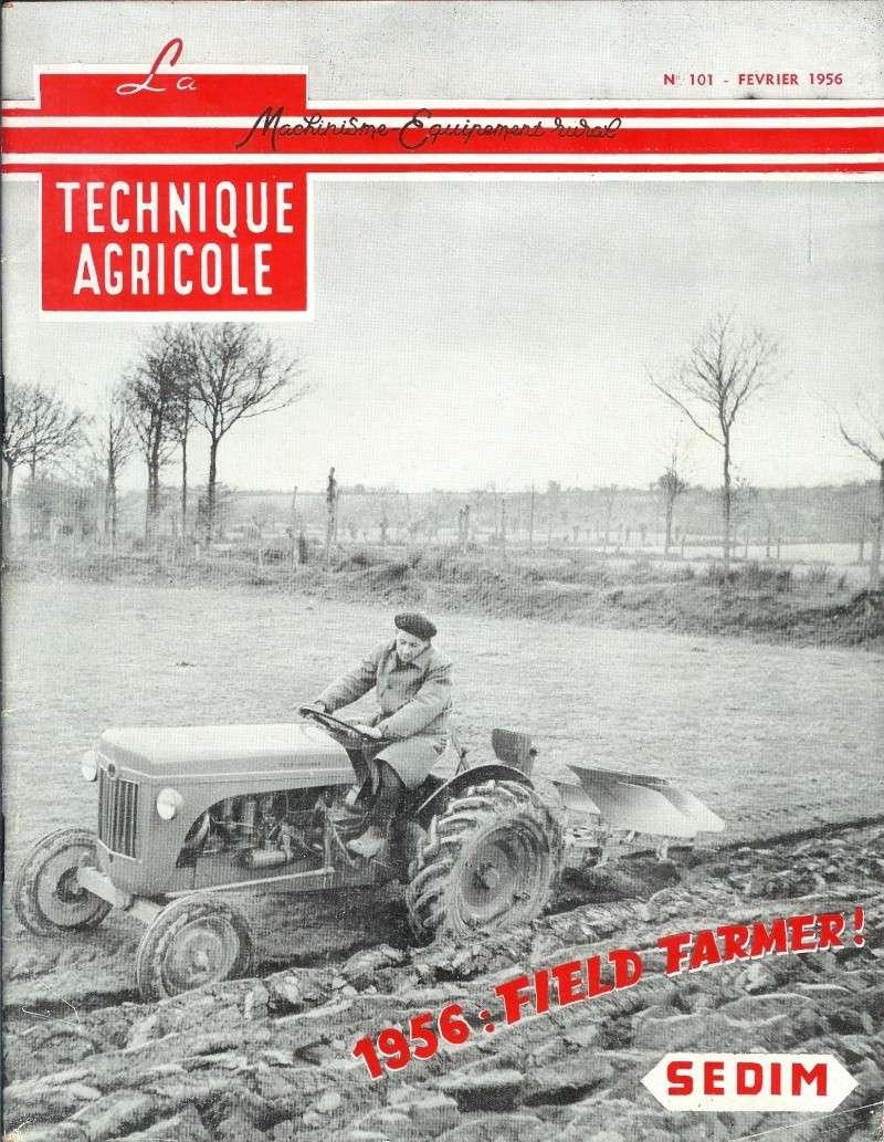 les TRACTEURS AGRICOLES à moteur 203 - Page 2 Field_20