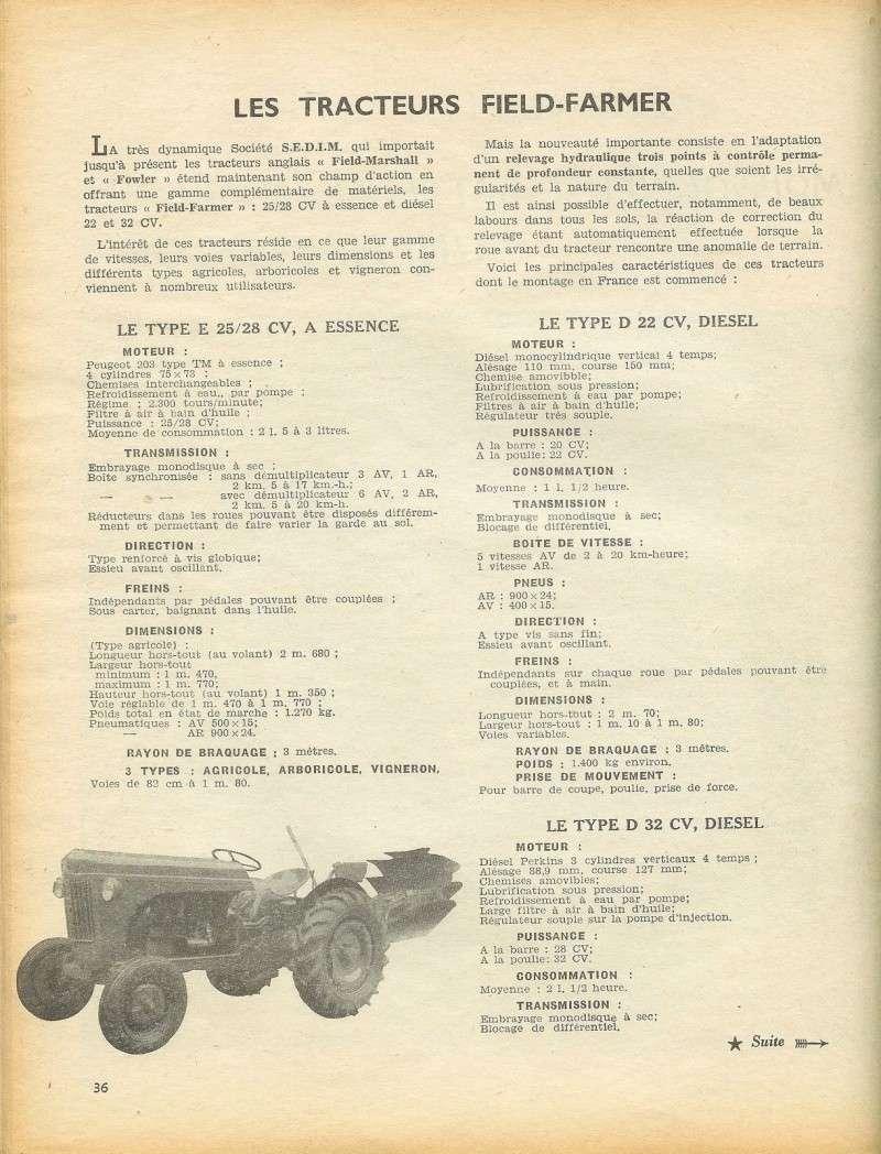 les TRACTEURS AGRICOLES à moteur 203 - Page 2 Field_21