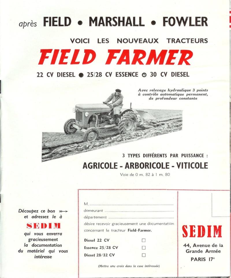 les TRACTEURS AGRICOLES à moteur 203 - Page 2 Field_23
