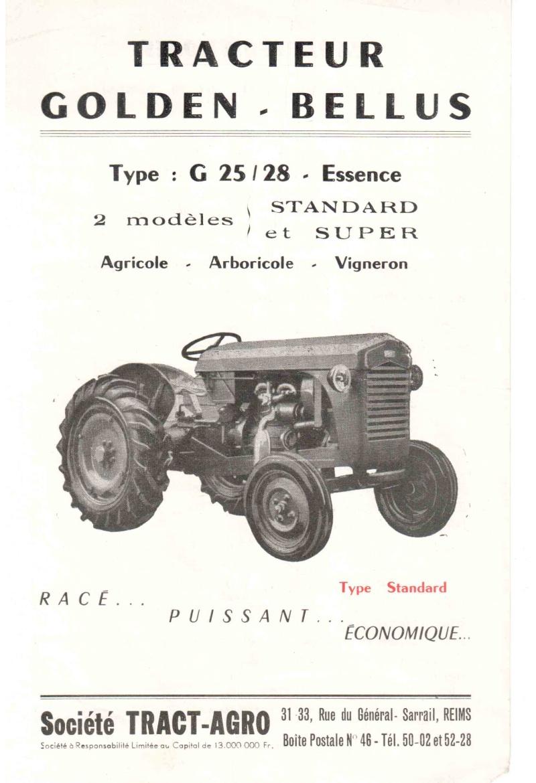 les TRACTEURS AGRICOLES à moteur 203 - Page 2 Golden16