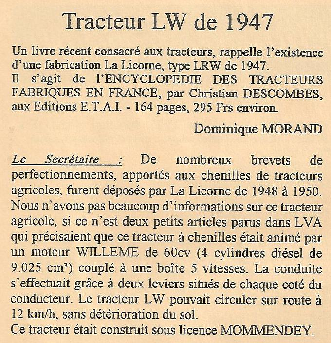 Tracteur LW de la Licorne : photos du seul rescapé connu La_lic16