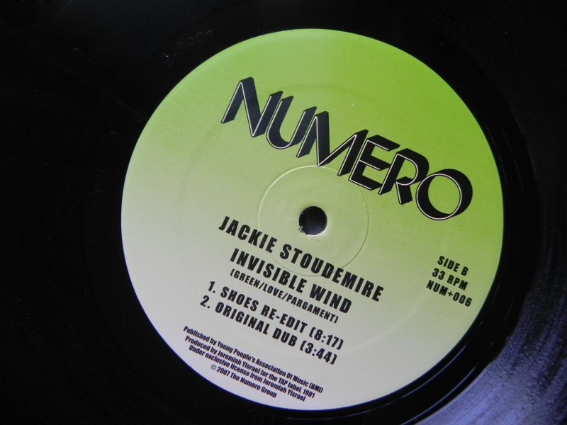 Jackie Stoudemire - Invisible Wind 1981 Jackie11