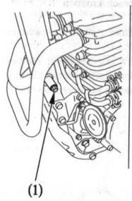 Vymena motoroveho oleja FMX650 podla manualu . Skrutk10