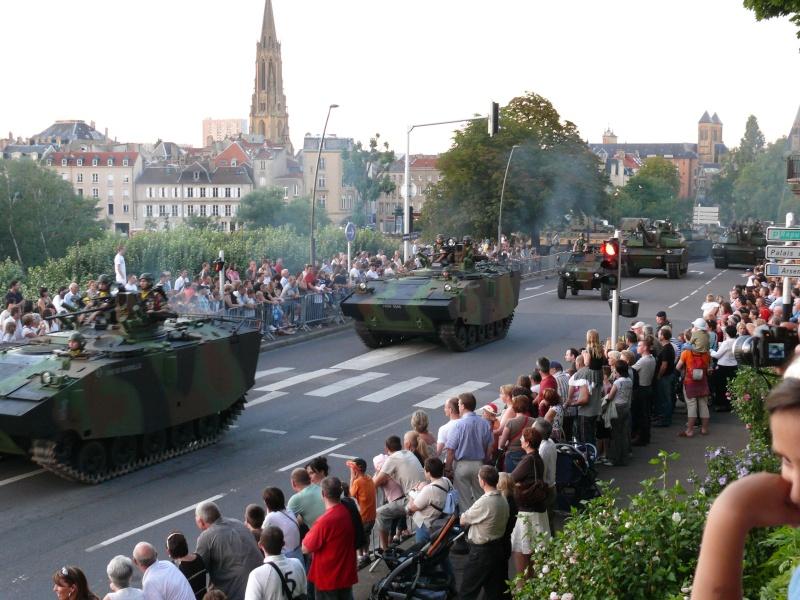 Défilé du 13 Juillet 2007 à Metz Presen10