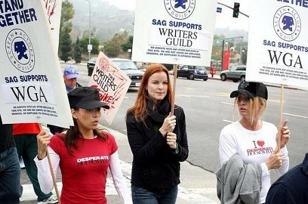Huelga de guionistas en Mujeres 3 12312110