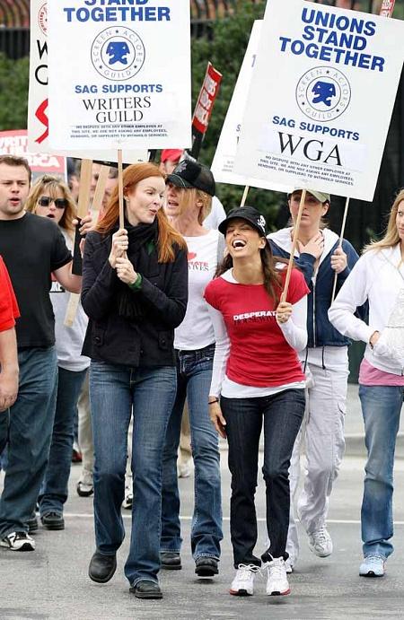 Huelga de guionistas en Mujeres 3 23222310