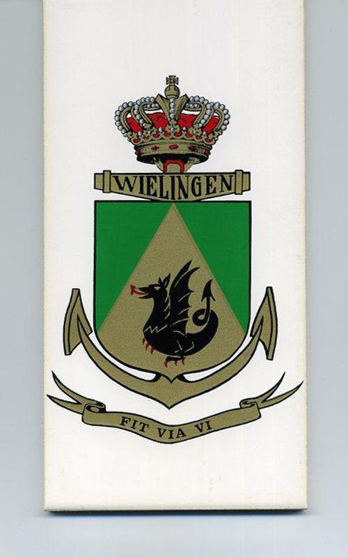 F910 WIELINGEN - Crest, badges, autocollants, peintures,... 02_f9110