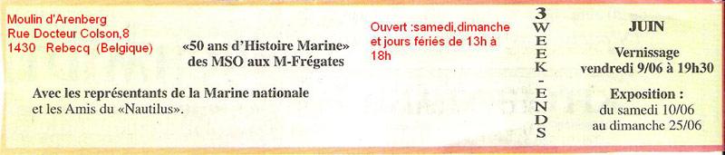 """Evénements divers """"Marine & Défense"""" Expo10"""