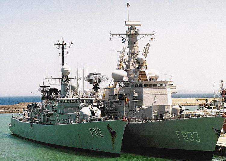 2 M-frégates hollandaises pour la Belgique ! Fregat10