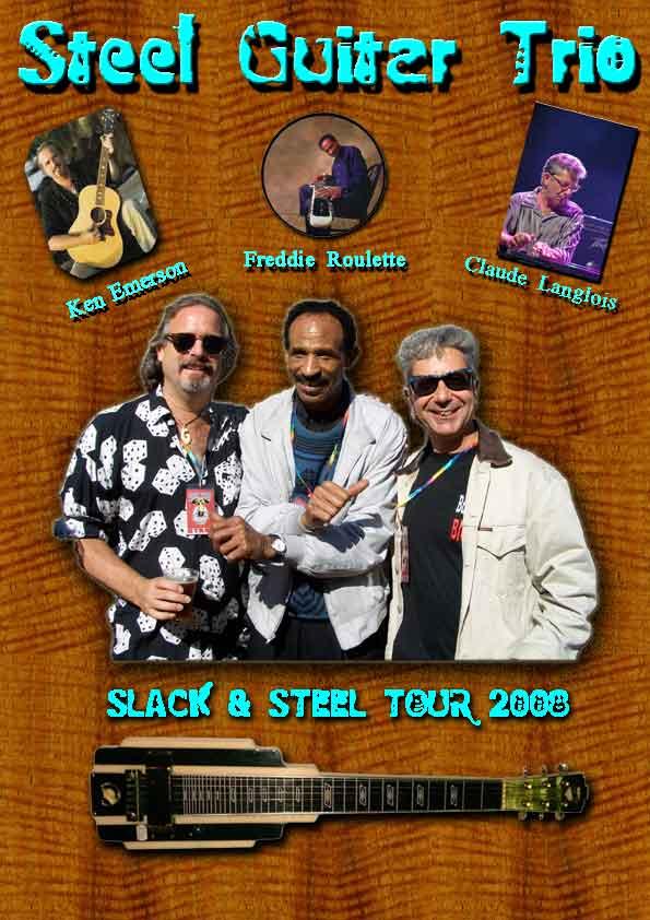 Steel guitar trio Steelg10