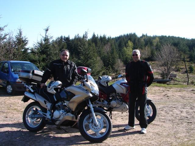 SORTIE DU 15 AVRIL 2007 AU DONON 22210