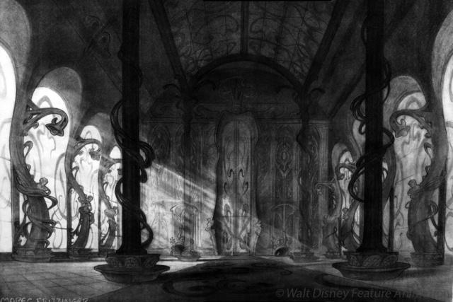 Rapprochement Walt Disney / Arts Déco 1925 Enchan10
