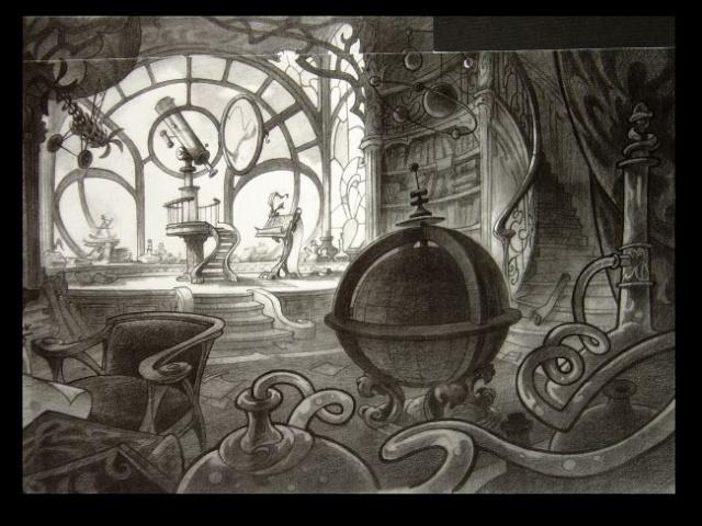 Rapprochement Walt Disney / Arts Déco 1925 Enchan11